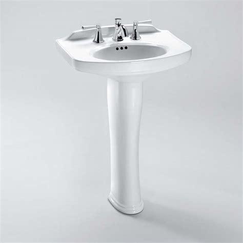 toto pedestal sink toto dartmouth 174 pedestal lavatory free shipping modern