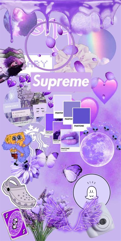 purple aesthetic flower background