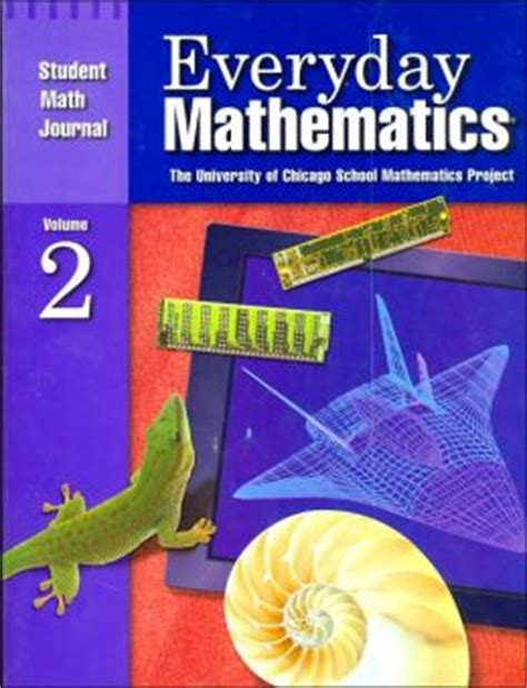 Everyday Mathematics Student Math Journal By University Of Chicago School Mathematics Project