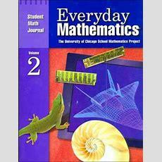Everyday Mathematics Student Math Journal By University Of Chicago School Mathematics Project