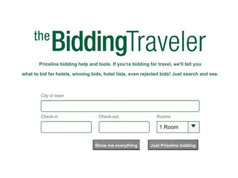 Bid Hotel Room by Bid For Hotel Room Rates Will Tell You A Winning Bid