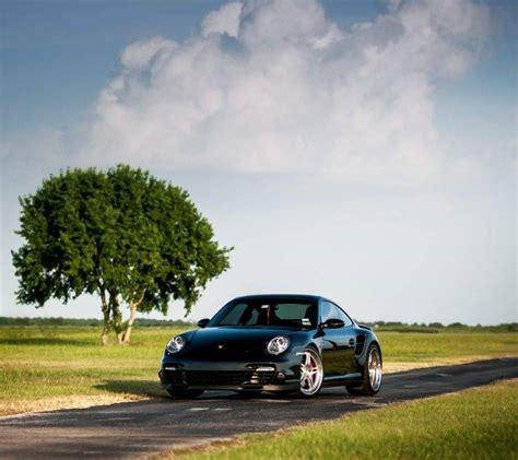 Car, Road, Trees, Porsche, Porsche 911 Turbo Wallpapers Hd
