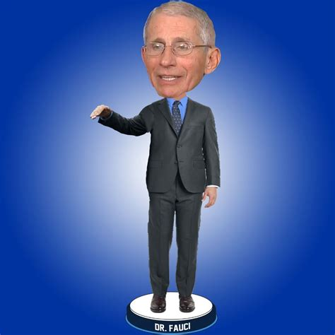 kay newscow dr fauci bobblehead    unveiled