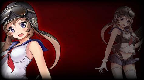 Red Anime Girl Pfp