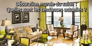 Dcoration Murale Du Salon Quelles Sont Les Tendances