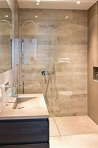 Quel Carrelage Pour Douche Italienne : douche italienne pour carrelage salle de bain pierre luxe ~ Zukunftsfamilie.com Idées de Décoration