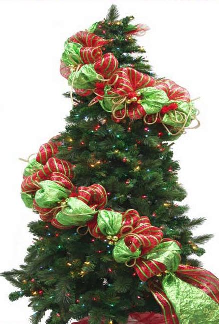 decorating a christmas tree with mesh netting how to make a mesh netting garland trendy tree decor inspiration wreath