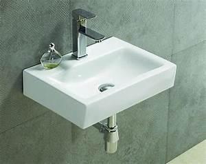 Lave Main Rectangulaire : lave main rectangulaire c ramique ~ Premium-room.com Idées de Décoration