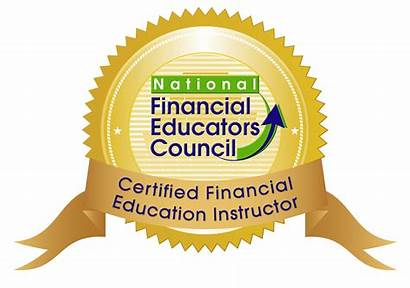 Financial Instructor Education Cfei Certified Seal Money
