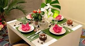 Dcoration De Table Exotique Prima