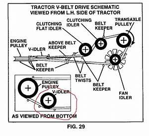 27 Craftsman Gt6000 Drive Belt Diagram