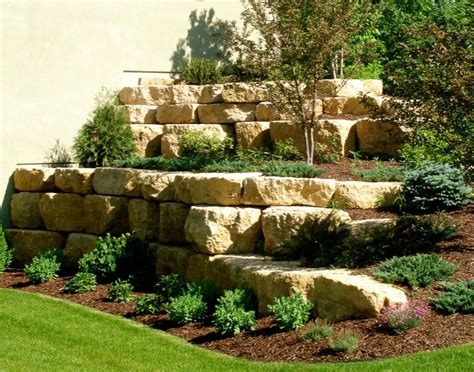 boulders for retaining wall boulder retaining wall boulder wall design boulder images inc