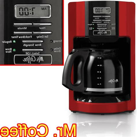 Helping you find your 12 cup programmable coffee maker. NEW Mr. Coffee 12 Cup Automatic Drip Coffee