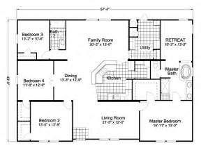 blueprints for homes gallery for gt wide manufactured homes floor plans