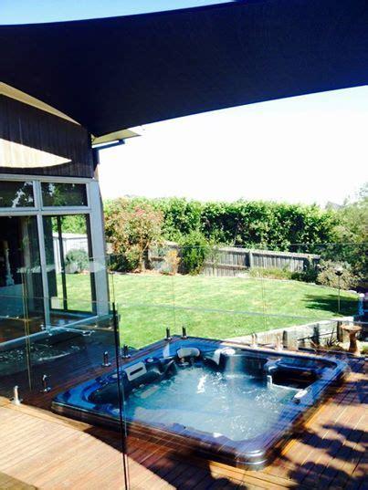 rio elite outdoor spa backyard fences fence decor
