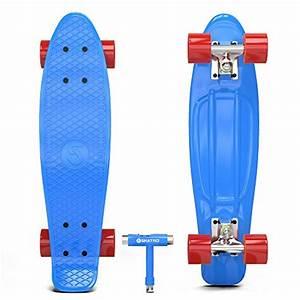 Cruiser Skateboard Trucks : skatro mini cruiser skateboard 22x6inch retro style ~ Jslefanu.com Haus und Dekorationen