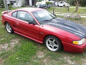 94' Mustang 5.0 GT - Red - 5 speed - 105k Mi. Lots of Upgrades for Sale in Stuart, Florida ...