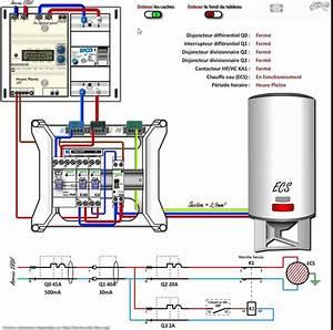 Chauffe Eau 380v : circuit chauffe eau avec contacteur heures creuses youtube ~ Edinachiropracticcenter.com Idées de Décoration