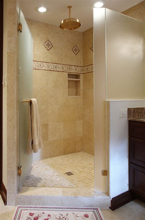 shower tiles ideas bathroom traditional  accent tiles