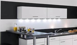 eclairage led plan de travail cuisine ziloofr With eclairage neon pour cuisine