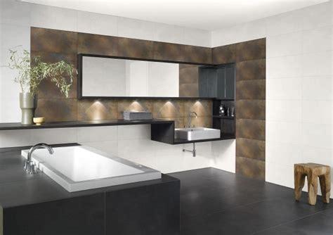 peinture salle de bains  idees de murs en deux couleurs
