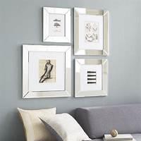 mirrored picture frames Mirror Loft Frames - west elm