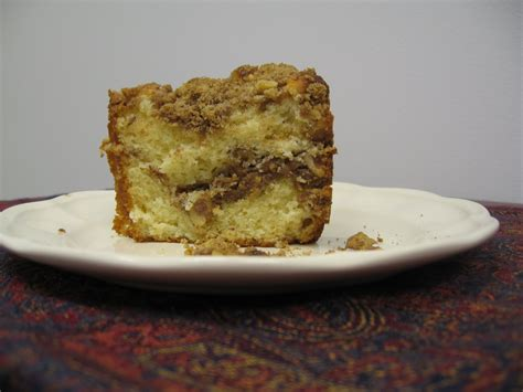 You can't see it in this picture. Lethally Delicious: Ina Garten's Sour Cream Coffee Cake AND Scalloped Tomatoes