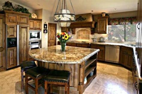 granite kitchen island design  interior design