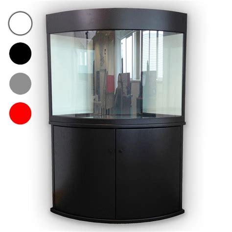 Corner Aquarium Fish Tank Cabinet Tropical Marine T5