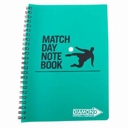 Match Notebook Note Equipment Coaching Football Coach