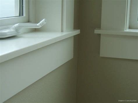 Interior Window Sill by I Like These Simple Window Sills Home