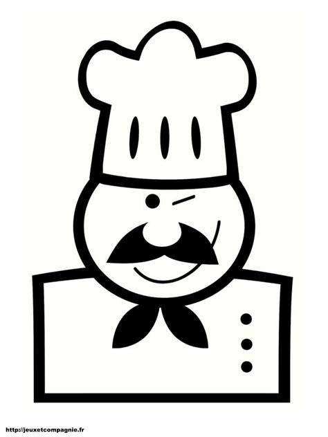 jeux de cuisine chef coloriages personnages à imprimer