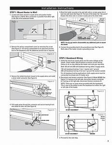 Installation Instructions  Step 2  Baseboard Wiring  Step