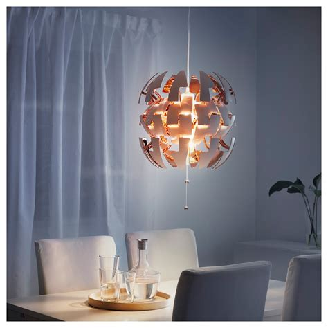 ikea ps 2014 pendant l white copper colour ikea