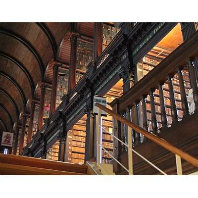 A Day In The Lyceum: Beauty of the Trinity College Library