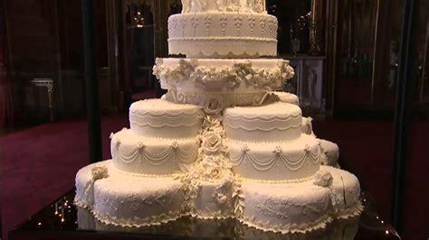 Royal Wedding Cake On Show