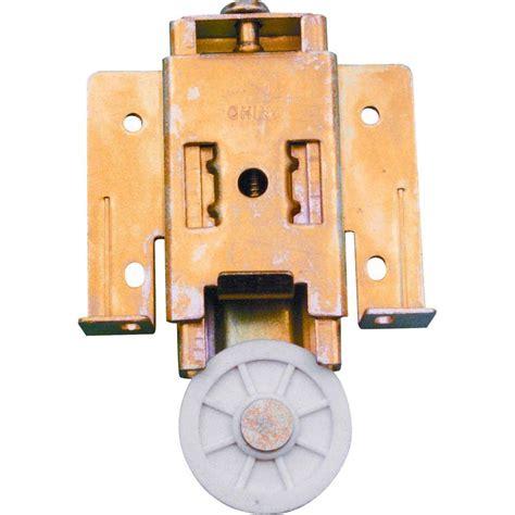 prime line mirrored wardrobe door roller assembly n 6817