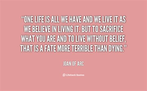 Image result for Joan of Arc Quotes