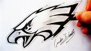 Como Desenhar a logo Philadelphia Eagles - (How to Draw ...