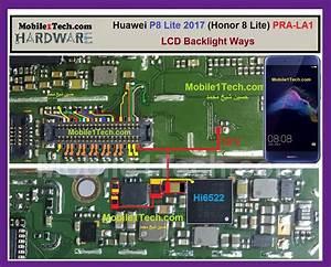 Huawei P8 Lite Diagram