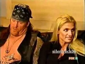 Undertaker & his wife sara ..flv - YouTube