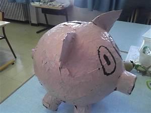 Faire Une Tirelire : tirelire cochon en papier mach ~ Nature-et-papiers.com Idées de Décoration