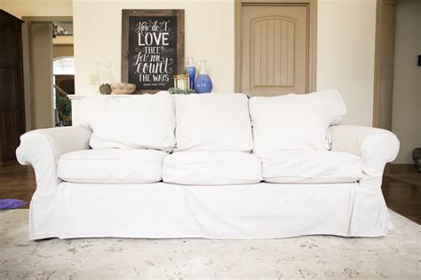 pottery barn loveseat slipcovers does the ikea ektorp slipcover fit pottery barn basic