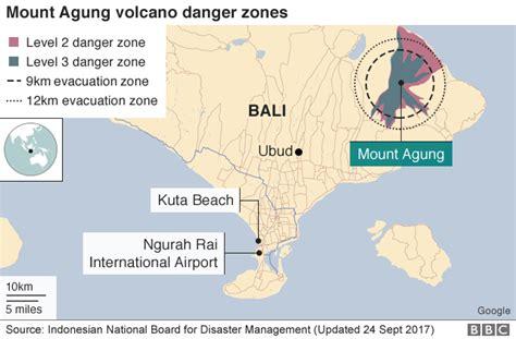 fast news mount agung bali volcano alert raised