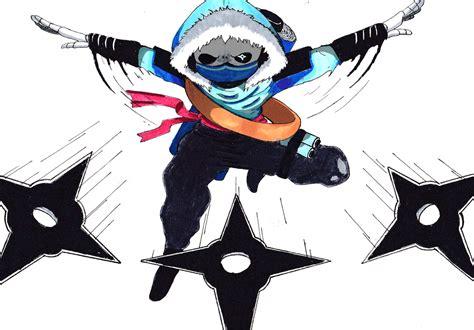 Ninja Sans-. By Disguisedhypnotist On