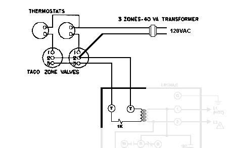 Taco Zone Valve Wiring Sch