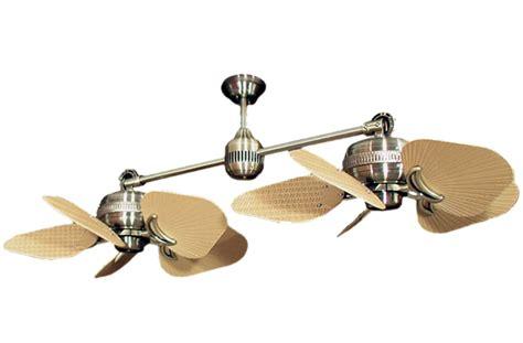 double fan ceiling fans ceiling fan design tropical multiple blades dual head