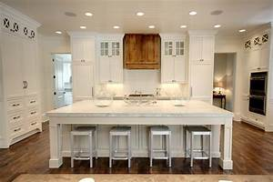 49 impressive kitchen island design ideas top home designs With kitchen colors with white cabinets with extra large abstract wall art