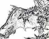 Hunter Monster Rathalos Anjanath Coloring Vs Wyvern Draw Silver Fox Drawings Praying Spartan Moses Series Neck Horse Deviantart sketch template