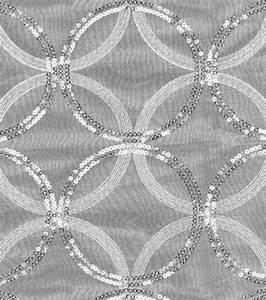 HGTV Home Decor Sheer Fabric Sparkle Plenty Silver Jo Ann